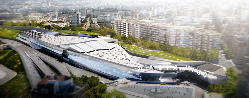 Nueva estación de tren en Vigo (2/6)