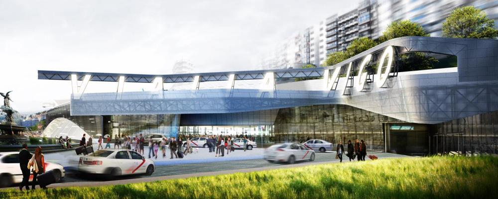 Nueva estación de tren de Vigo (II) (2/6)